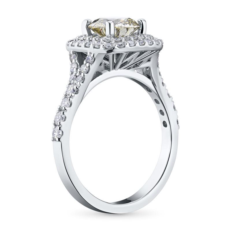 Кольцо из белого золота с бриллиантами э0901кц02186300 (фото 4)