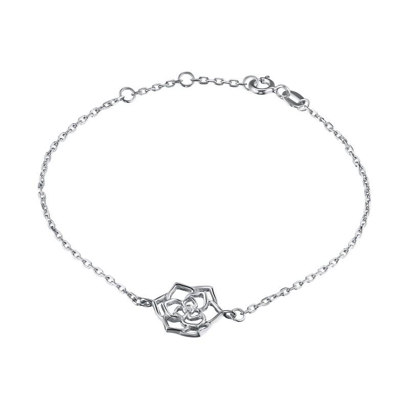 Браслет из серебра с бриллиантом э0601бр07184800