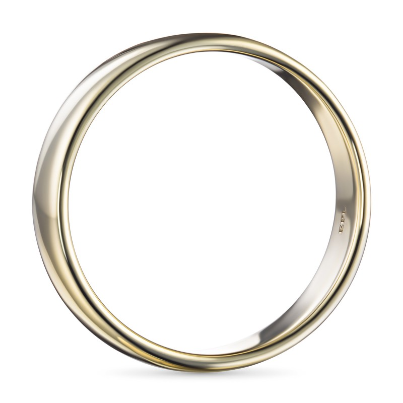 Кольцо из желтого золота э0300кц01161000 (фото 4)