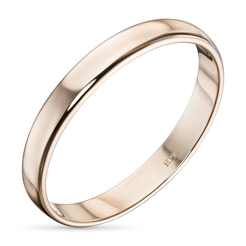 Кольцо из красного золота э0200кц09173300