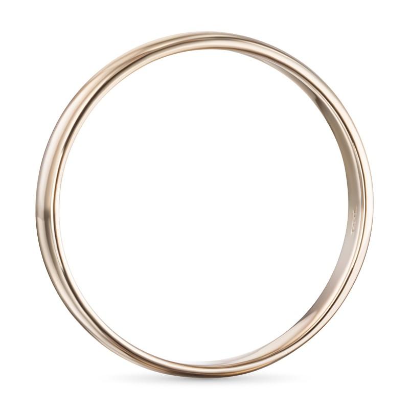 Кольцо из красного золота э0200кц09173300 (фото 4)