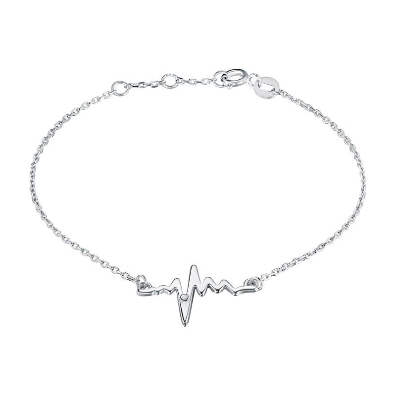 Браслет из серебра с бриллиантом э0601бр07191020