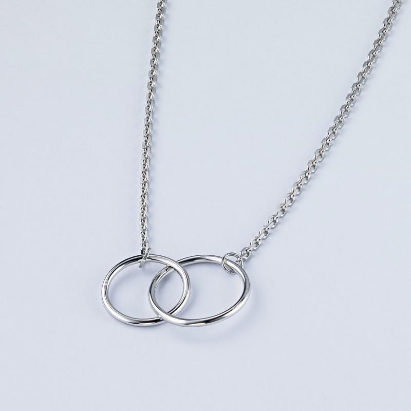 Колье из серебра э0600кл08200121 (фото 4)