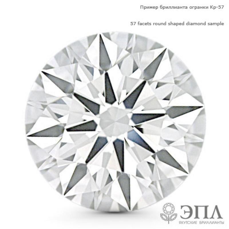 Бриллиант круг 0.077 карат ЯБ66947