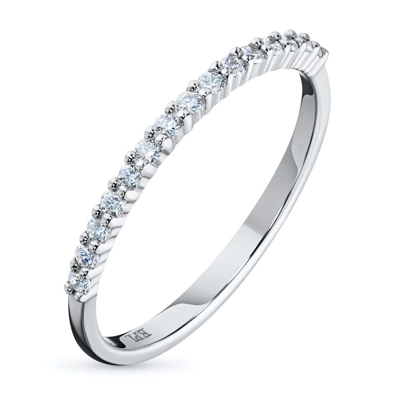 Кольцо из белого золота с бриллиантом э0901кц12153500