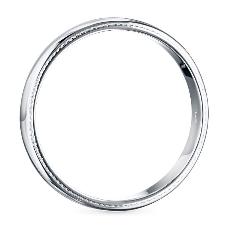 Кольцо из белого золота э0900кц03172600 (фото 4)