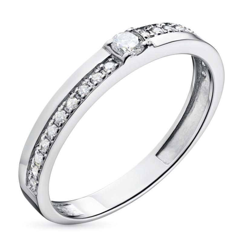 Кольцо из белого золота с бриллиантами э0901кц02144000