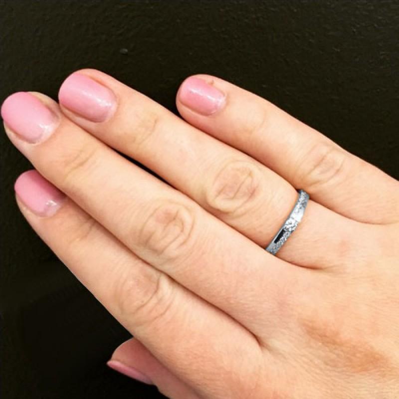 Кольцо из белого золота с бриллиантами э0901кц02144000 (фото 5)