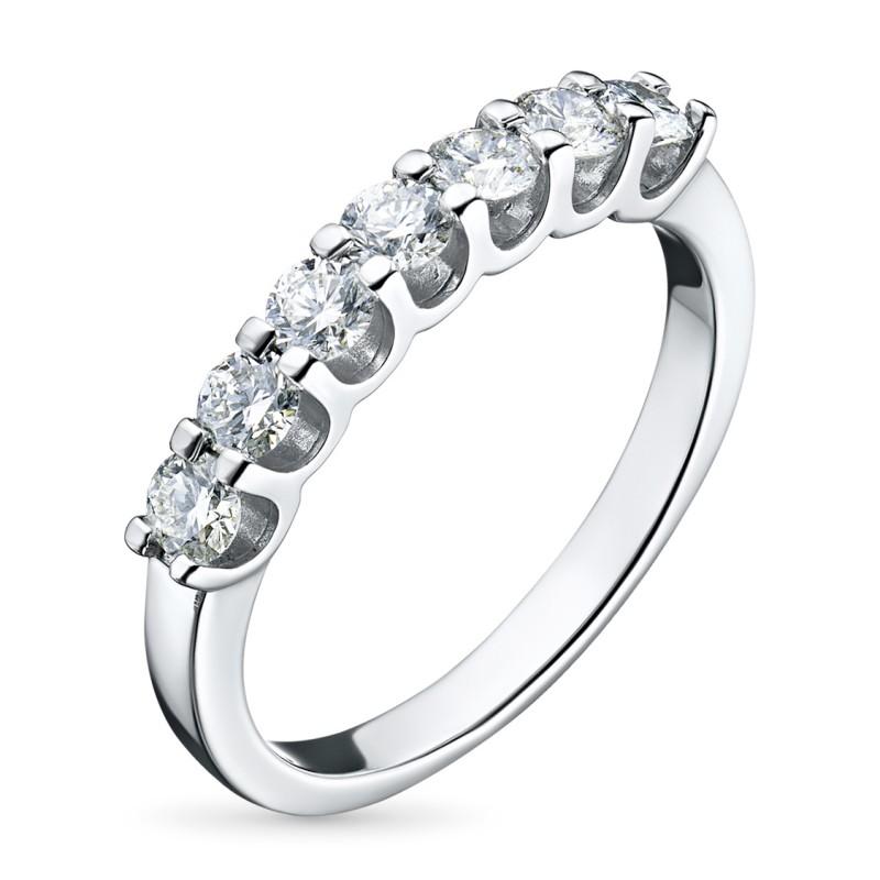 Кольцо из белого золота с бриллиантом э0901кц08151900