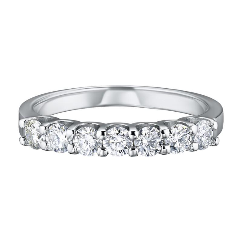 Кольцо из белого золота с бриллиантом э0901кц08151900 (фото 3)