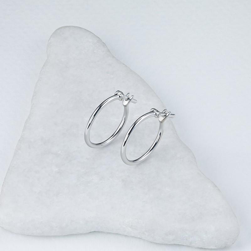 Серьги из серебра э0600сг09200106 (фото 4)