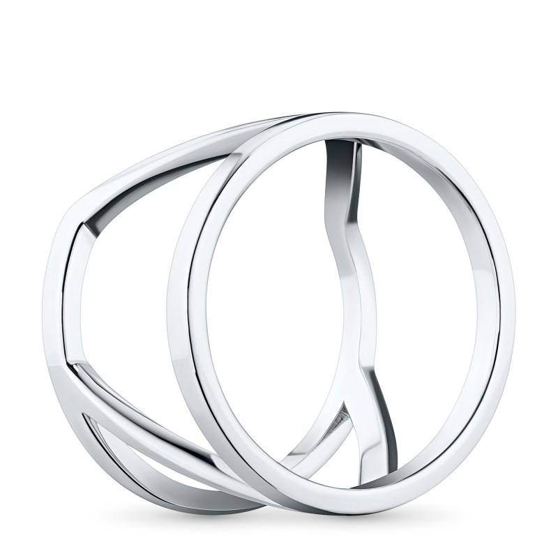Кольцо из серебра с бриллиантом э0601кц02193600 (фото 4)