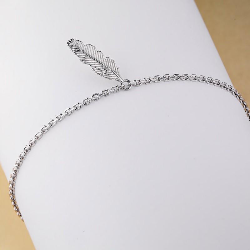 Браслет из серебра с бриллиантом э0601бр04202329 (фото 4)