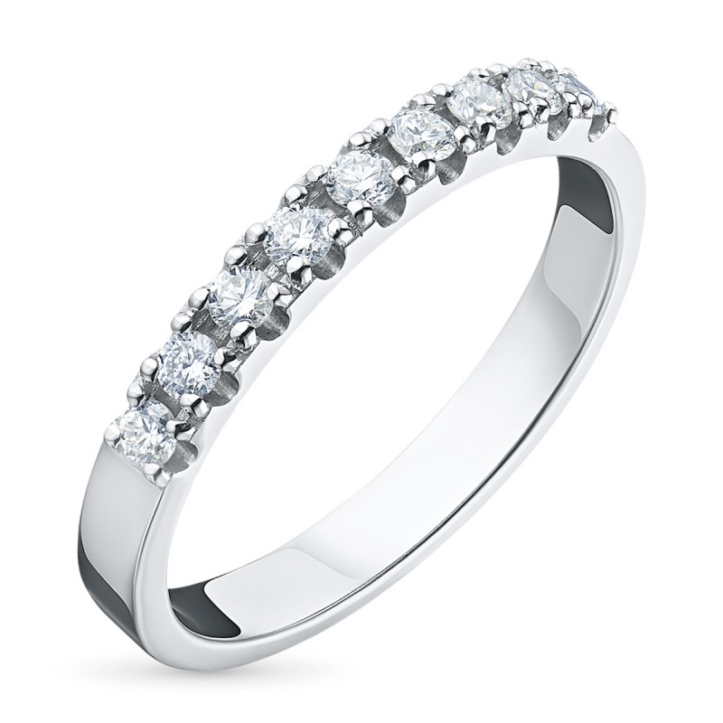 Кольцо из белого золота с бриллиантом э0901кц08161200
