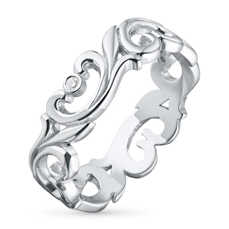 Кольцо из серебра с бриллиантом э0601кц08177000