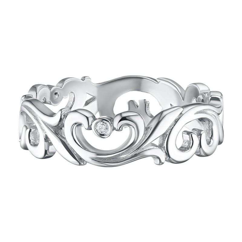 Кольцо из серебра с бриллиантом э0601кц08177000 (фото 2)