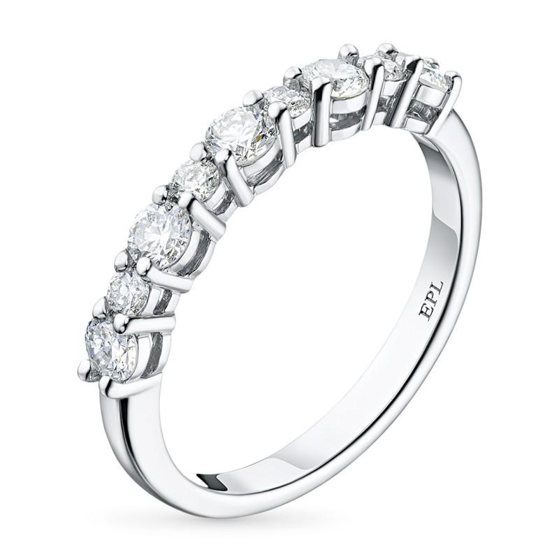 Кольцо из белого золота с бриллиантами э0901кц09174700