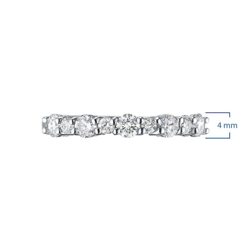 Кольцо из белого золота с бриллиантами э0901кц09174700 (фото 3)