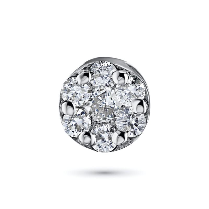 Подвеска из белого золота с бриллиантами э0901пд04152800