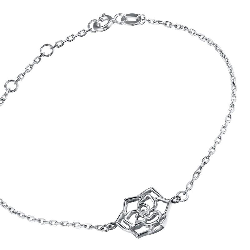 Браслет из серебра с бриллиантом э0601бр07184800 (фото 2)